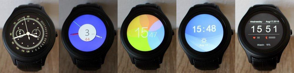 Ciferníky chytrých hodinek NO.1 D5